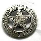 Texas Ranger Co. A Badge