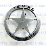 Texas Ranger Large Historical Reproduction Badge