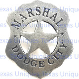 Marshall Dodge City Historical Badge