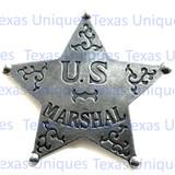 Old West U.S. Marshall Badge