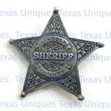 Lincoln County Sheriff Old Western Badge