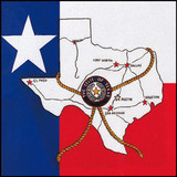 State Of Texas Map Bandana State Of Texas