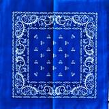 Royal Blue Paisley Bandana