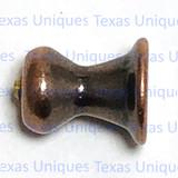 Concho Cabinet Hardware Knob & Pull Adapter Copper Finish