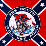Confederate States South Will Rise Again Bandana