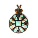 Turquoise San Marcos Pendant