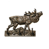 Elk Hook Triple Wildlife Wall Mount