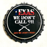 Texas Decorative Metal Wall Hanging Bottle Cap