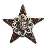 Cowboy Church Star Magnet