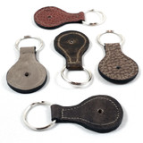Brown Leather Key Fobs
