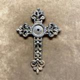 Rustic Concho Wall Cross