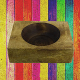 One Hole Wood Cheese Mold