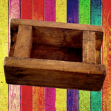 Rustic Wood Cheese Mold
