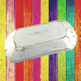 Wooden White Dough Bowl