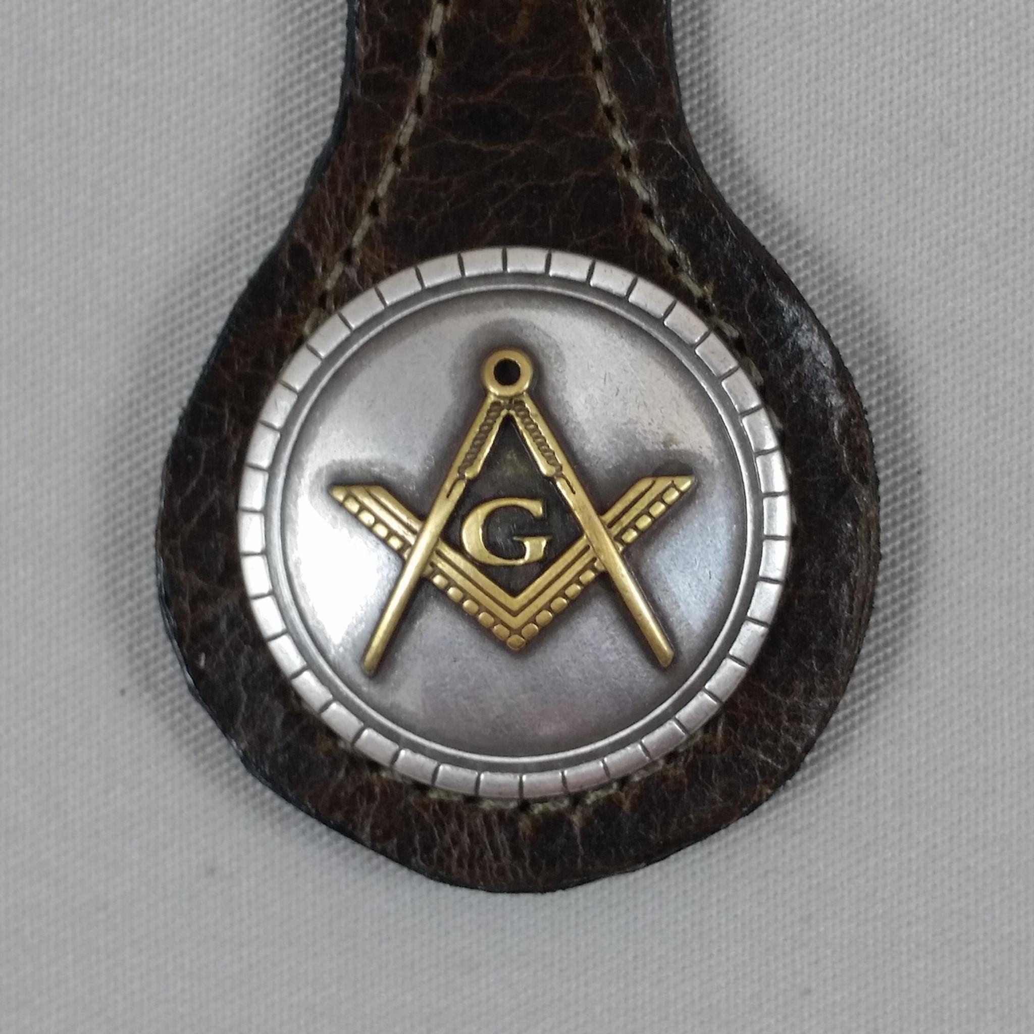 Masonic Key Fob Brown Texas Uniques Store