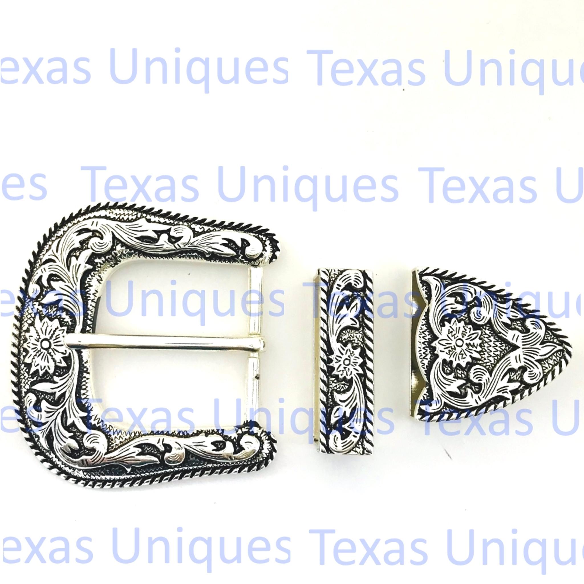 Western Decor Bright Silver Concho Pendant//Necklace Adapter
