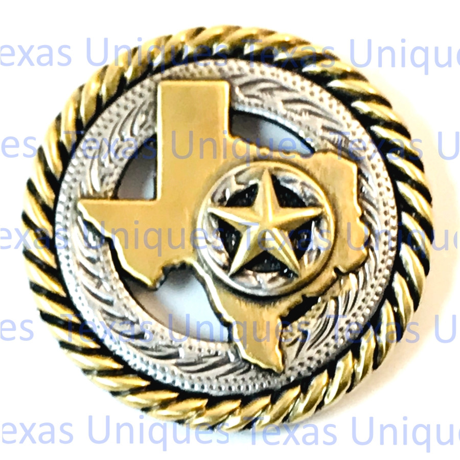 Texas Star Rope Concho