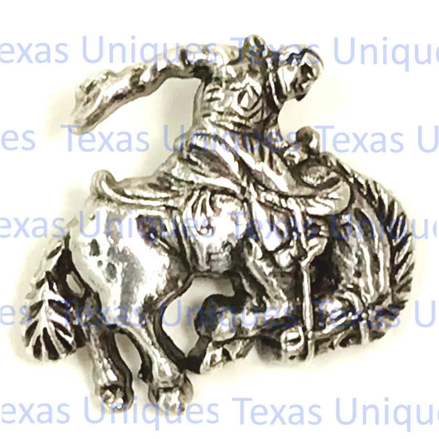 Western Rodeo Saddle Bronc Concho