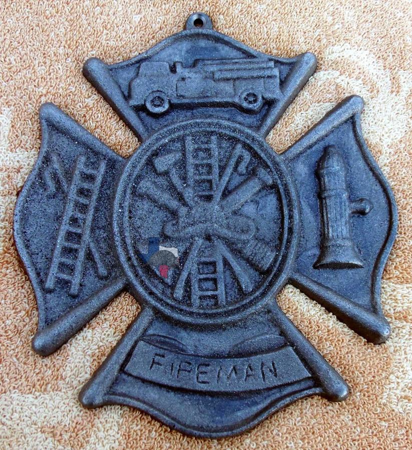 Fireman Cross Firefighter Maltese Cross