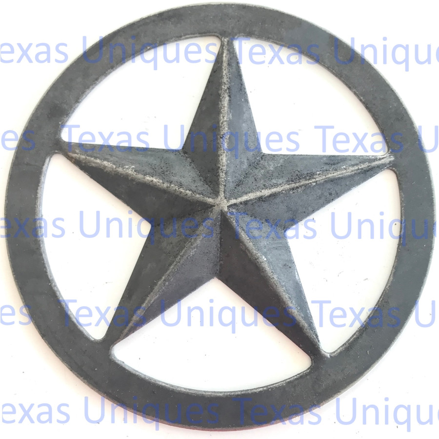 Metal Cut Out Of Texas Star