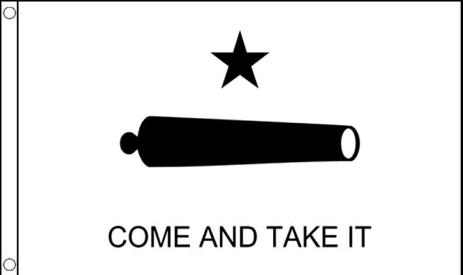 COME AND TAKE IT GONZALES FLAG