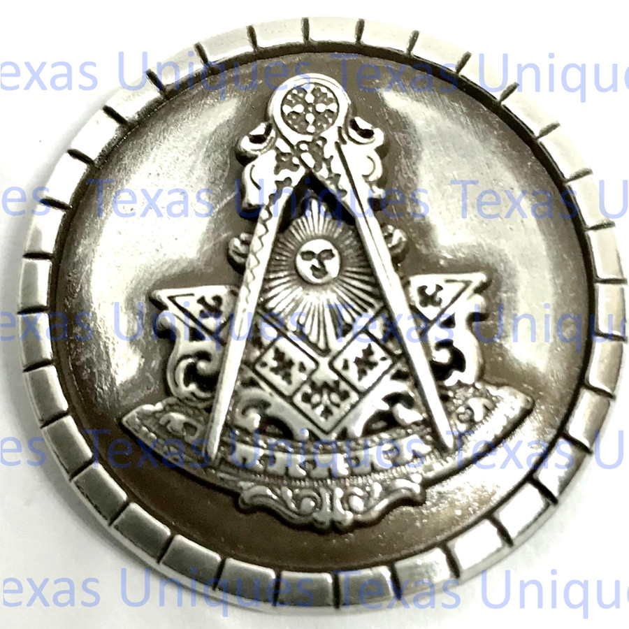 Masonic Past Master Fraternal Concho