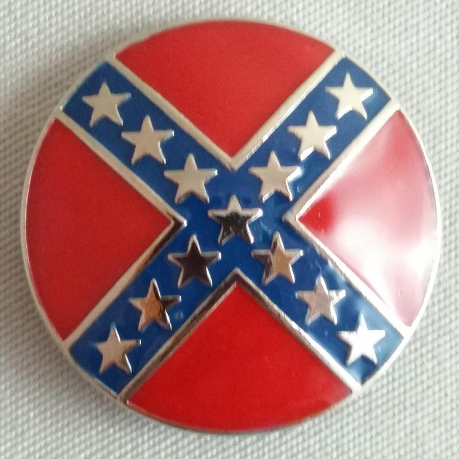 Confederate Round Rebel Concho