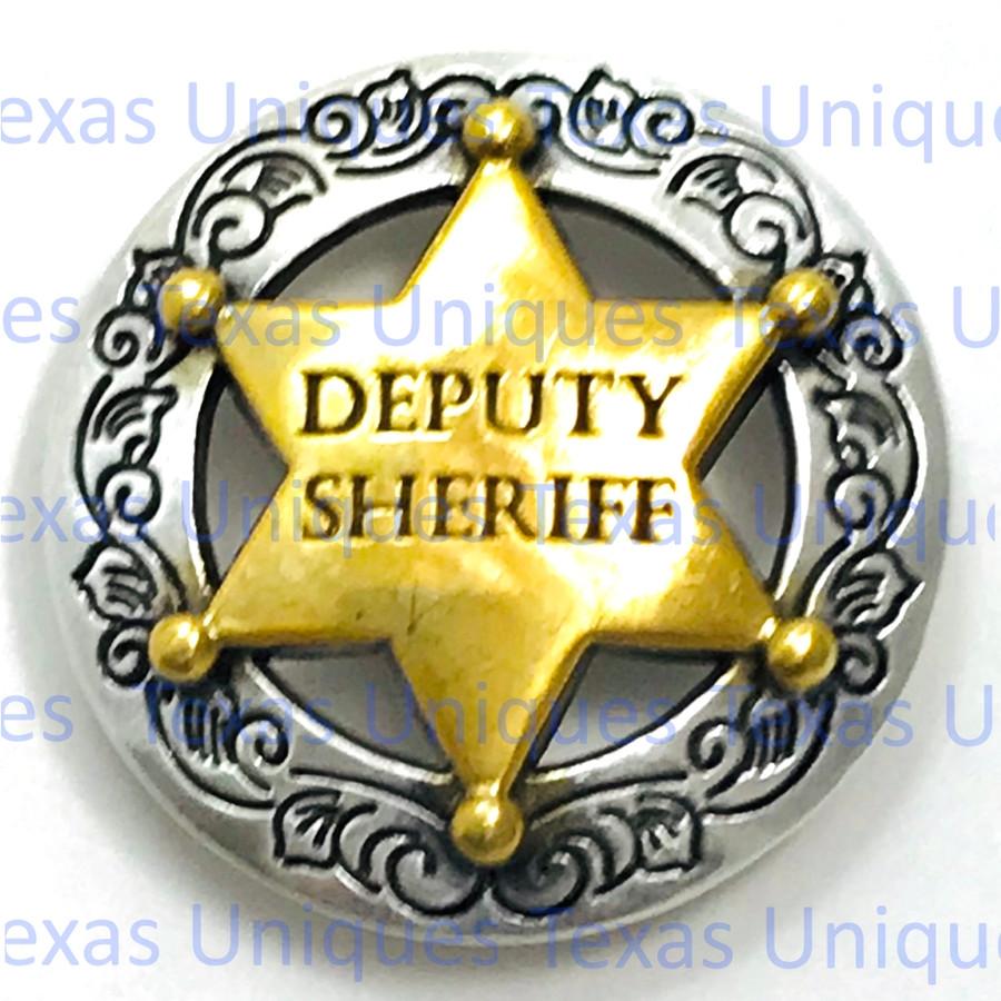 Engraved Border Deputy Sheriff Concho