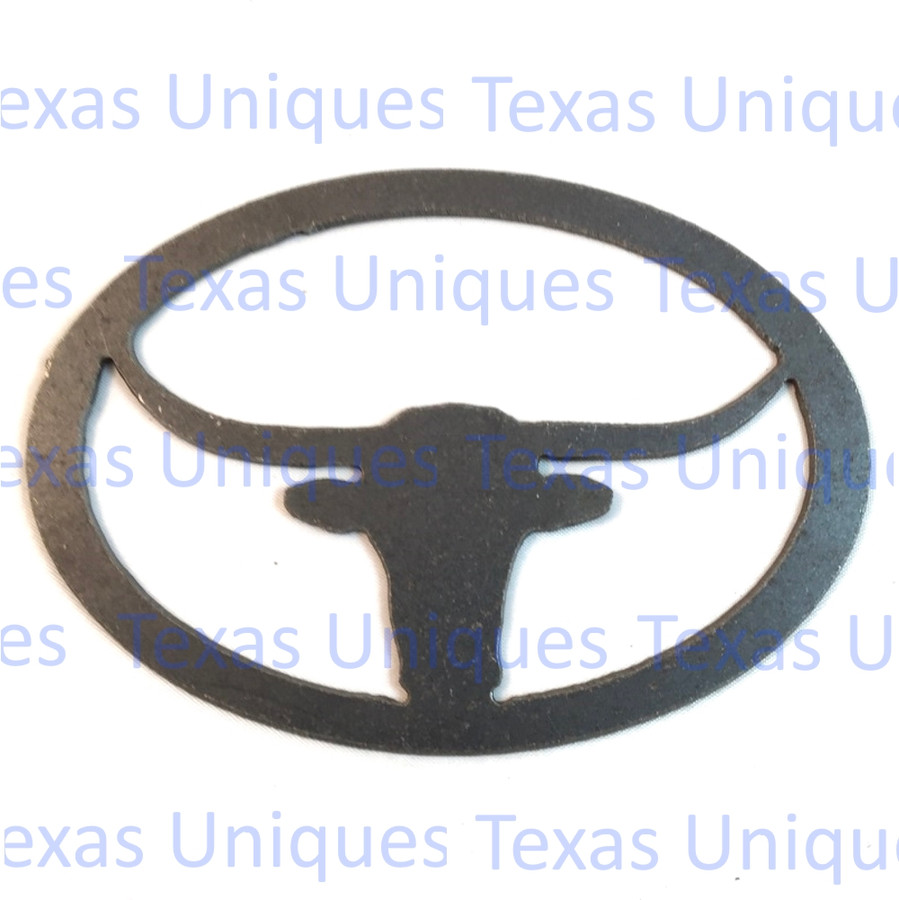 Longhorn Metal Cut Out
