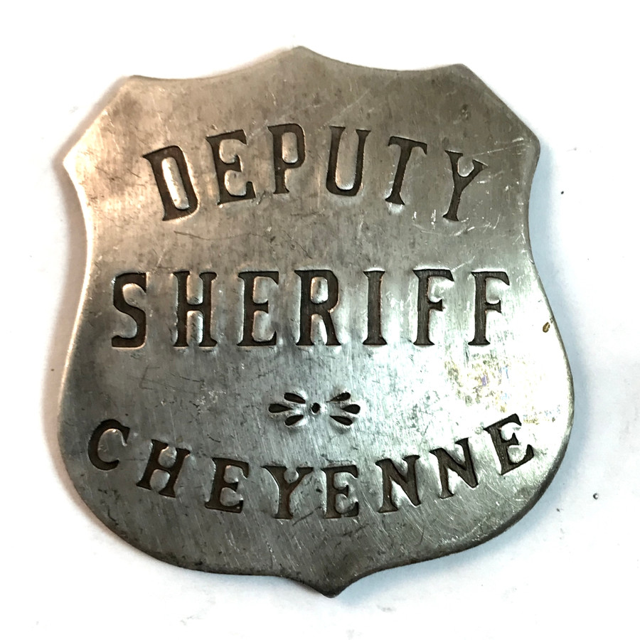 Old West Deputy Sheriff Badge