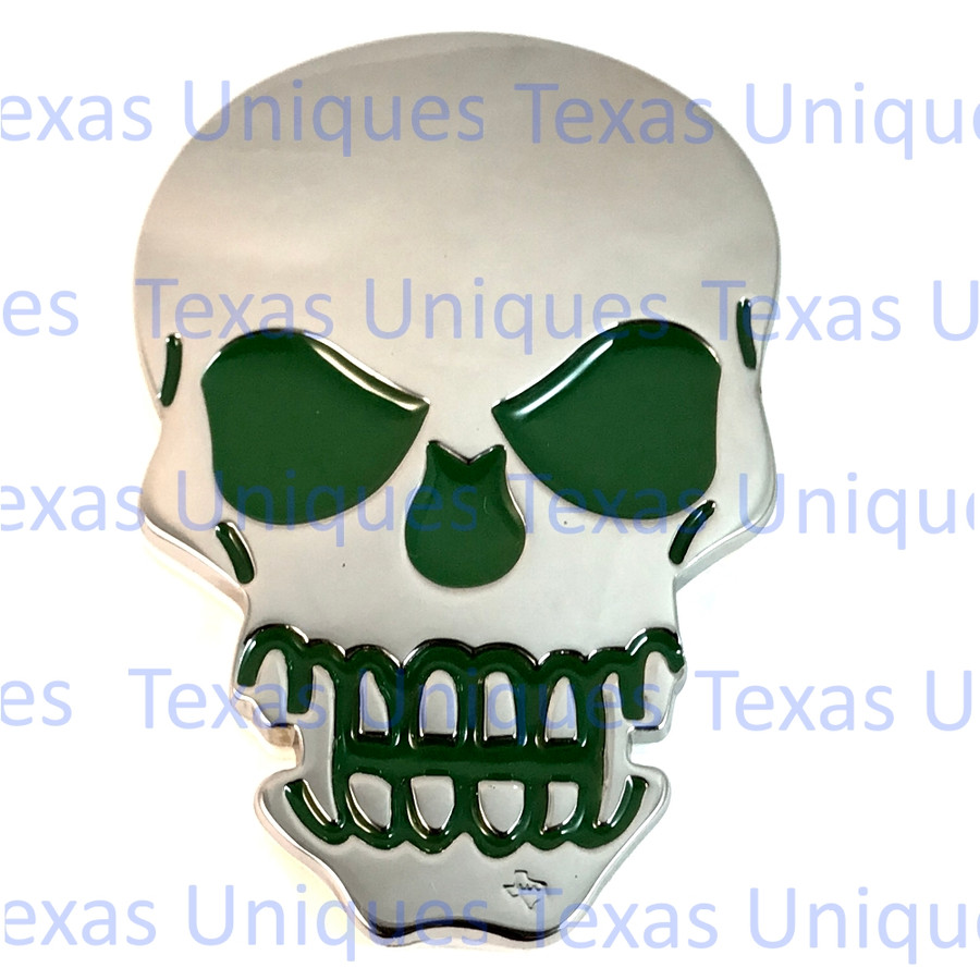 Decorative Skull Motorcycle Decal