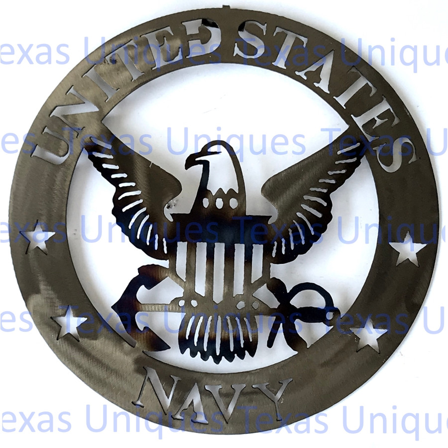United States Navy Wall Art Metal Cut Out