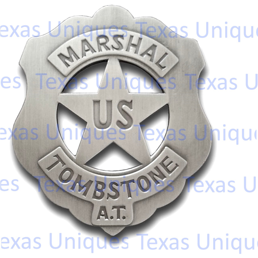 Old West US Marshall Replica Badge