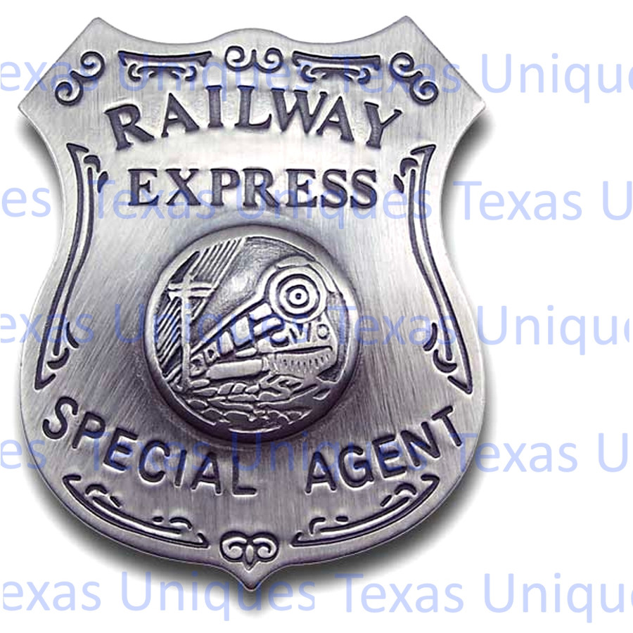 Railway Express Special Agent Old West Badge