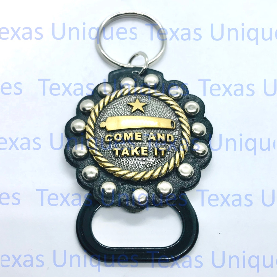 Come And Take It Hand Held Bottle Opener