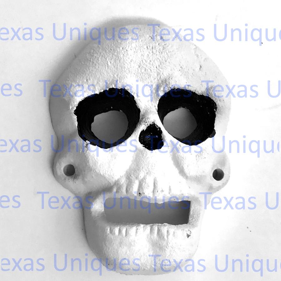 Cast Iron Skull Wall Mount Bottle Opener