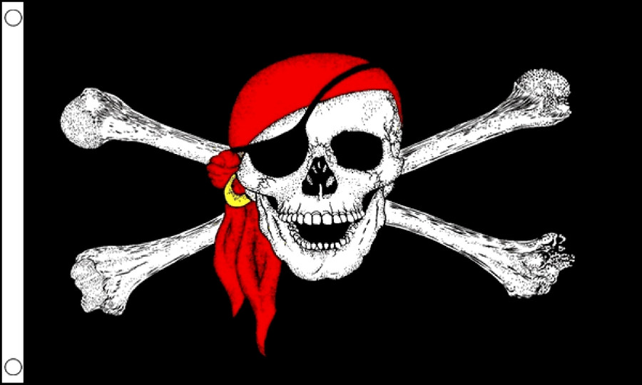 Pirate Bandana Flag