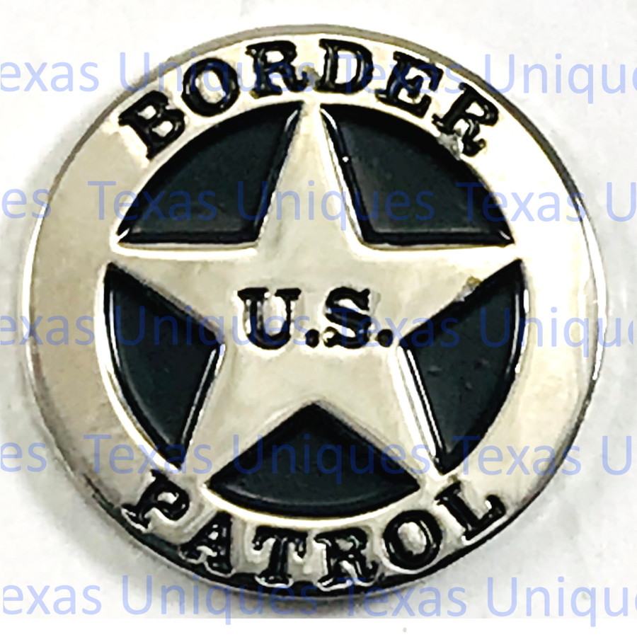 US Border Patrol Flat back