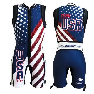 Mens Eagle USA 2020 Barefoot Suit