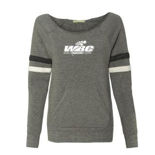 Womens Eco-Fleece Stripe Sweatshirt