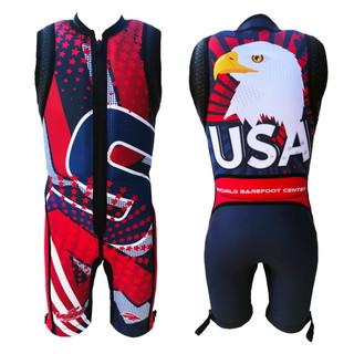 Mens Eagle USA 2018 Barefoot Suit