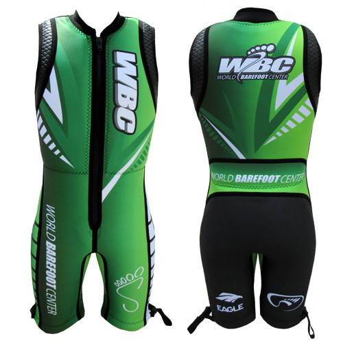 WBC Junior Eagle Avenger 2.0 Barefoot Suit (Green)
