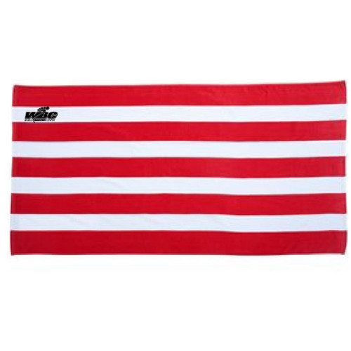 WBC Stripe Beach Towel