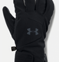 UA Windstopper 2.0 Gloves - Black
