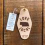 Nebraska Love Local Keychain