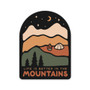 Better In The Mountains Sticker