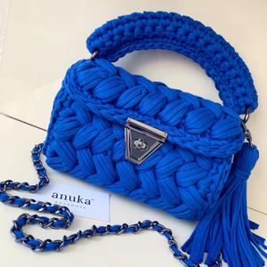 Handmade Bag (Blue)