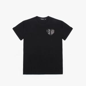 Heart (black t-shirt)