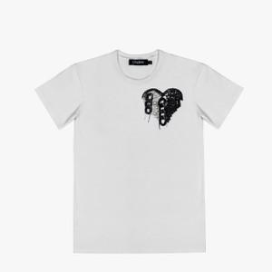 HEART (white T-SHIRT)