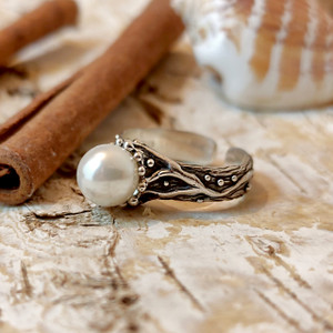 """Ring Silver """"Hatik"""""""